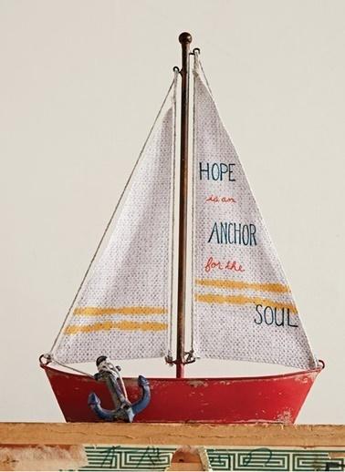 Tekne Dekoratif Obje  ©-Warm Design